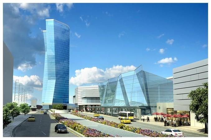 Atlanta New Luxury Hotel Rendering