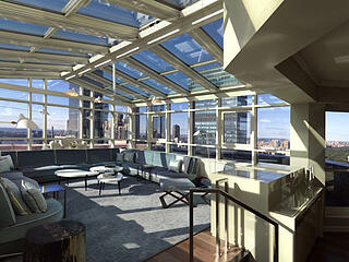 The London NYC - Interior Rooftop Terrace